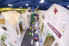 My Town, Interactive Village, customed designed, play houses