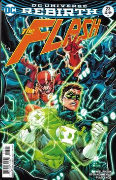 DC Flash Universe Rebirth comic issue 23 Limited variant