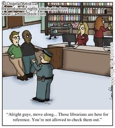 I'm a sucker for librarian humor.