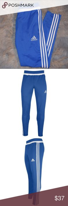Brand New✨ Adidas Tapered Tiro Pants Never Worn❗️Blue/White Mens Adidas tapered Tiro pants. Never worn. Need more photos  or more info? Feel free to ask. I'll do my best.  Adidas Pants