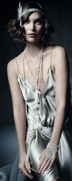 Tiffany & Co. Gatsby Collection - pearls