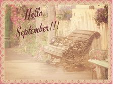 #September#hello#welcome#sweet#romantic#photography#vintage#girly#lace#good#month