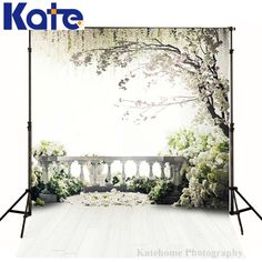Find More Background Information about Kate 5x7ft Flowers Photography Backdrops Tree green Garden studio fotografia backdrop Loft Wedding  Backgrounds ForPhoto  Studio,High Quality studio camera,China studio e27 Suppliers, Cheap backdrop muslin from katehome2014 on Aliexpress.com