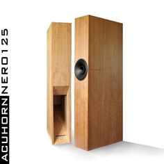 Acuhorn Nero125 Reference High End 96dB Neodym Speakers Best The World for Tubes #Acuhorn