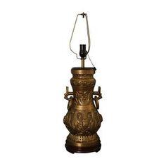 1940s James Mont style lamp on www.jackson-kline.com
