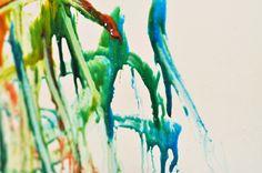 DIY homemade bathtub paint;  Recipe: 1 tbsp cornstarch, 4-6 pumps baby shampoo (about 1/8 c.), 2-3 drops food coloring, 1-2 tsp water