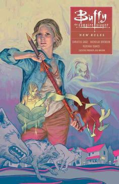 While slaying the zompires that have overrun a small California town, Buffy and her pals are shocked to discover a new kind of vampire: harder to kill, able to transform and walk in the light of day--