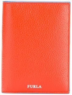 Furla portfolio cardholder Leather Portfolio, Orange Leather, Furla, Card Holder, Business, Bags, Men, Leather Briefcase, Handbags