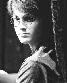 Daniel Radcliffe as Harry Potter in Harry Potter and the Sorcerer's Stone (2001)