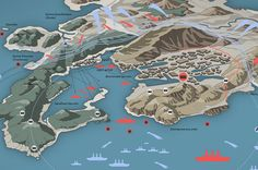 The defense of the fortress of Port Arthur on Behance