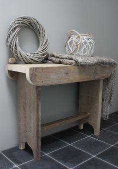 Inspirerend | Landelijk krukje/bankje van www.woningspecials.nl Door jo-pluis