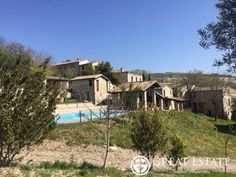 Castles and Villages for sale - Marche - € 790,000    Marche | Macerata | San Severino Marche Code 3674    Hamlet for sale in Le Marche with swimming pool and beautiful view, great opportunity for groups or business accommodation! the property consists in 8 buildings,with 5 hectares of land, and 350 olive trees.
