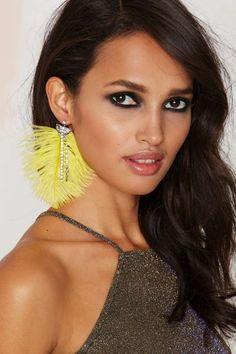 Birds of Prey Rhinestone #Earrings.