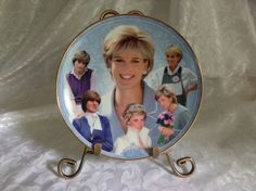 DIANA: THE PEOPLE'S PRINCESS Collector Plate By Danbury Mint ~ New in Collectables, Decorative Ornaments/ Plates, Collector Plates | eBay
