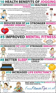 Benefits Of Jogging
