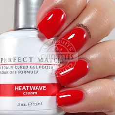 LeChat Perfect Match - Heatwave - swatch by Chickettes.com