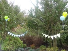 Monster Bash - Monster Pennant Flags Pennant Flags, Scary Monsters, Monster Party, Plants, Plant, Planets