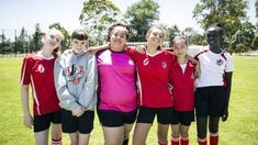 Have you seen Mustangs FC? It's a TV show about a girls' football team that knows no boundaries. Great holiday read from Con Stamocostas. Football Girls, Football Team, Book Tv, Mustangs, Rain Jacket, Windbreaker, Tv Shows, Kicks, Diy Crafts