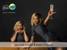 Separate Private & Public Persona Learn more today Persona, Separate, Public, Education, Learning, Studying, Teaching, Onderwijs