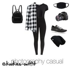 """""""casual photography"""" by kookies-outfit on Polyvore featuring Pieces, Golden Goose, STELLA McCARTNEY and Skechers"""