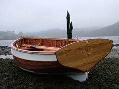 Exquisite clinker boat