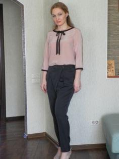 Блузка с бантом / Фотофорум / Burdastyle