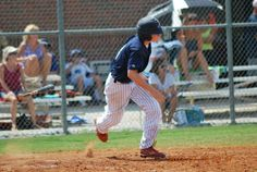 Bustin' out of the box at the Perfect Game Showcase in East Cobb, GA.; circa 2012.