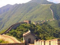 China Wall, this was the place my stepdad said he would go to if he could go anywhere in the world.  I wish I could take him!