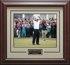 Phil Mickelson Wins British Open Champion Photo Framed