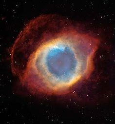 "Hubble images- Nicknamed image as ""The Eye of God"", it's actually a nebula."