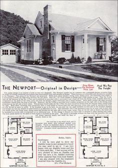 offici hous, modern houses, 1940, house plans
