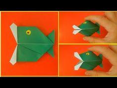 Как сделать говорящую рыбу. Оригами ИГРУШКА рыба - YouTube