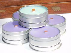 25 Mini Tin Candles - Hand-poured with Love Strawberry Guava, Strawberry Champagne, Bulk Candles, Tin Candles, Blue Cotton Candy, Pineapple Sage, Cranberry Chutney, Beeswax Lip Balm, Lime And Basil