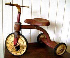 ANOS DOURADOS: IMAGENS & FATOS: IMAGENS - Brinquedos dos anos 50 VELOCÍPEDE
