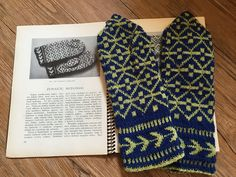 Ravelry: Telšiai Mittens pattern by Donna Druchunas