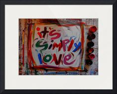 """""""its simply love"""" by Daniel Horton, Louisville //  // Imagekind.com -- Buy stunning fine art prints, framed prints and canvas prints directly from independent working artists and photographers."""