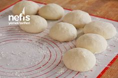 Evde Ekmek Yapımı (videolu) - Nefis Yemek Tarifleri Hamburger, Food And Drink, Bread, Turkish People, Breads, Recipe, Bread Baking, Cooking, Chef Recipes