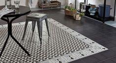 Tapis en carreaux ciment