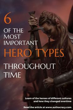 The Ultimate History of the Hero in Literature - Authocracy Publishing - Education interests Creative Writing Tips, Book Writing Tips, Writing Prompts, Writer Tips, Writing Characters, Writers Write, Fiction Writing, Writing Inspiration, Book Lists