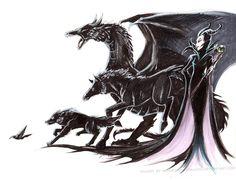 Maleficent by slifertheskydragon.deviantart.com on @deviantART