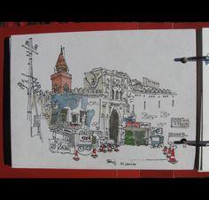 Carnet de Croquis - Inde - Nepal - Arnaud (2012-2013)