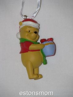 Disney Christmas Ornament Winnie The Pooh (have)