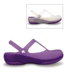 7de06e78219 This Crocs Oyster   Dahlia Chameleons Carlie Color-Changing Clog - Women by  Crocs is perfect!