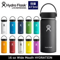 【エントリーでP5倍!6/17 19時~】【替えキャッププレゼント】Hydro Flask ハイドロフラスク 16 oz Wide Mouth HYDRATION 5089022 【雑貨】【BTLE】 ボトル 水筒