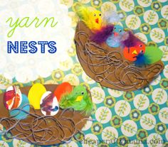 """""""Y"""" is for Yarn Nests"""