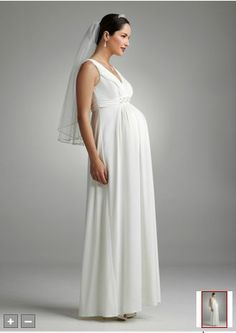 Best wedding david39s bridal maternity wedding gowns for Davids bridal maternity wedding dress