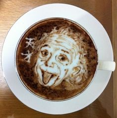 Awesome latte art!