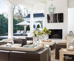 Increase the hours outside with outdoor-safe wireless speakers and televisions.