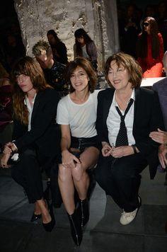Lou Doillon, Jane Birkin et Charlotte Gainsbourg
