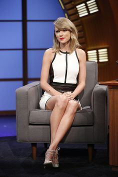 Taylor Swift on Seth Myers